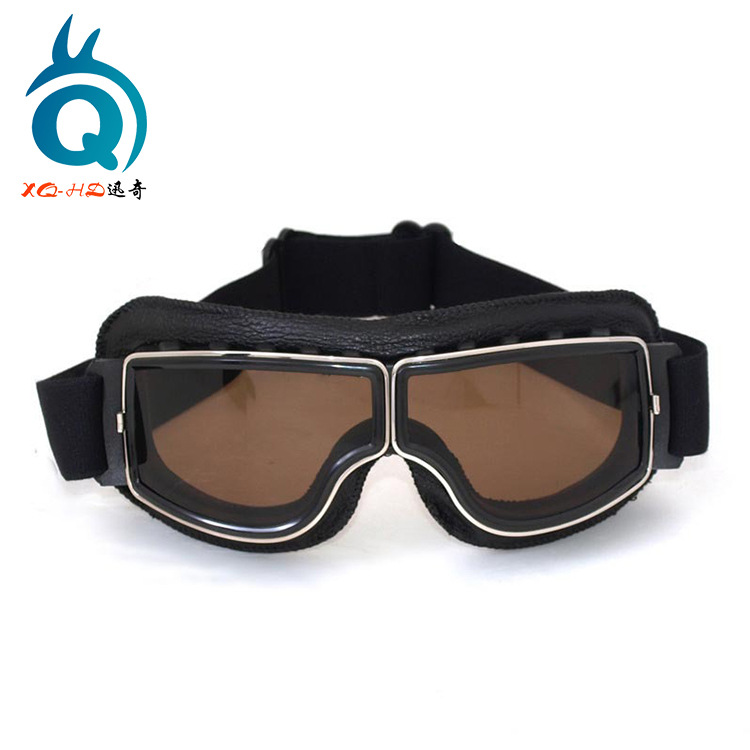Motorcycle Goggles Outdoor Mountain Climbing Ski Goggles Cool Hide Substance Locomotive Riding Off-road Harley Mask Goggles