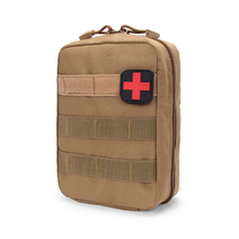 Military Survival Bag Tactical Medical First Aid Kit Molle Medical EMT Cover Emergency Package Hunting Utility Belt Bag nylon first aid bag tactical molle medical pouch emt emergency edc rip away survival ifak utility car first aid bag