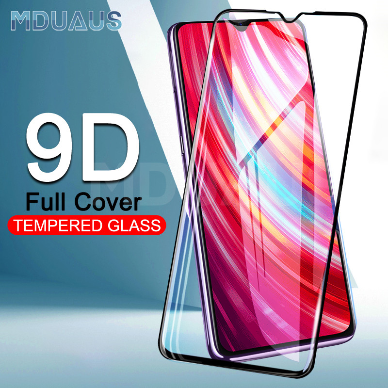 9D Protective Glass On The For Xiaomi Redmi Note 8 7 6 Pro Redmi 7 7A 6 Pro S2 K20 Pro Tempered Screen Protector Glass Film Case