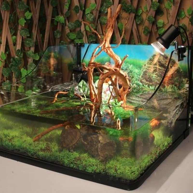 天然木の幹流木水族館水槽爬虫類シリンダー作る根植物の木の装飾飾り