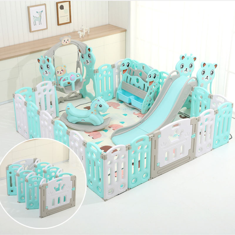 Baby Playpens Indoor Playground Children Activity Gear Environmental Protection Barrier Game Safety Fence Educational Play Yard