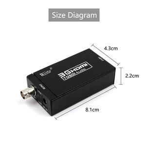 Image 3 - Wiistar HDMI כדי SDI אודיו וידאו ממיר Box BNC SD HD 3G SDI עבור מצלמה צג