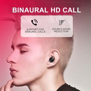 Image 4 - TG2 TWS Bluetooth 5.0 écouteur stéréo sans fil Earbus HIFI son Sport écouteurs mains libres jeu casque avec micro pour téléphone