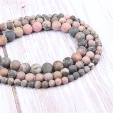 Black Line Red Natural?Stone?Beads?For?Jewelry?Making?Diy?Bracelet?Necklace?4/6/8/10/12?mm?Wholesale?Strand