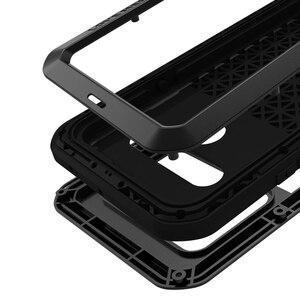Image 5 - اغلفة ال جي G8S thinQ الفاخرة Doom درع واجب مقاوم للماء للصدمات معدن الألومنيوم غطاء الهاتف ل LG G8s ThinQ ثلاث كاميرات