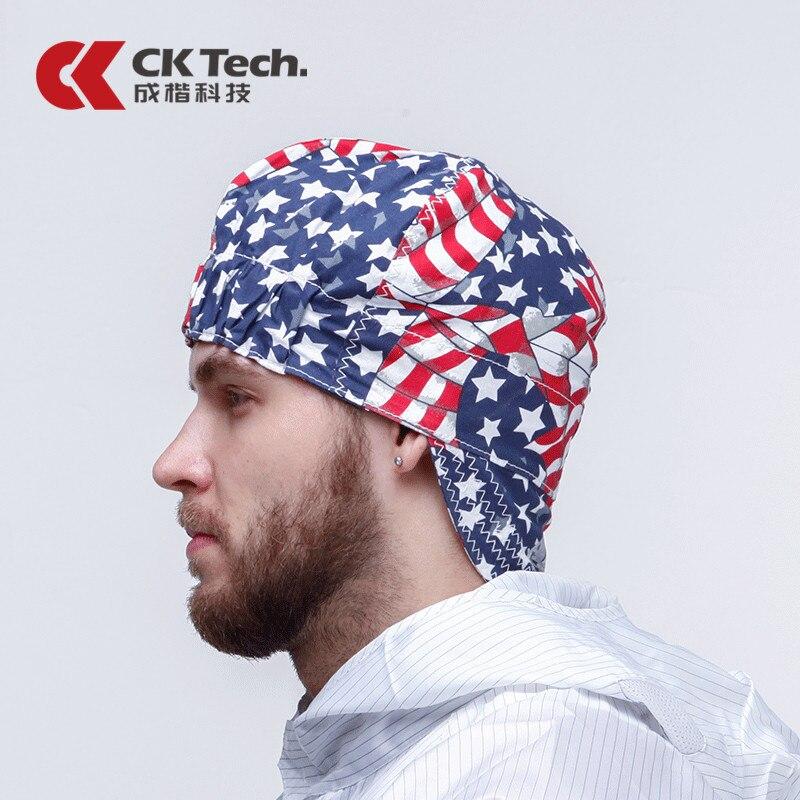Welding Cap Welders Hat Protective Caps Bandana Cotton Adjustable Cotton Hat Cap