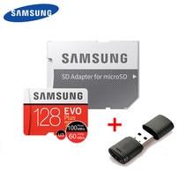 SAMSUNG tarjeta Micro SD de 128GB Clase 10 tarjeta de memoria EVO + EVO Plus microSD 512GB 256GB 64GB Tarjeta de 8GB TF cartao de memoria