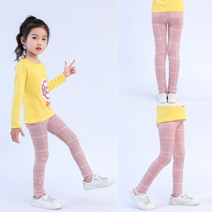 VEENIBEAR New Style Print Girl Leggings Skinny Cool Summer Girl Pants Children Kids Pants Baby Girl Clothes Trousers Age 4-11Y 2