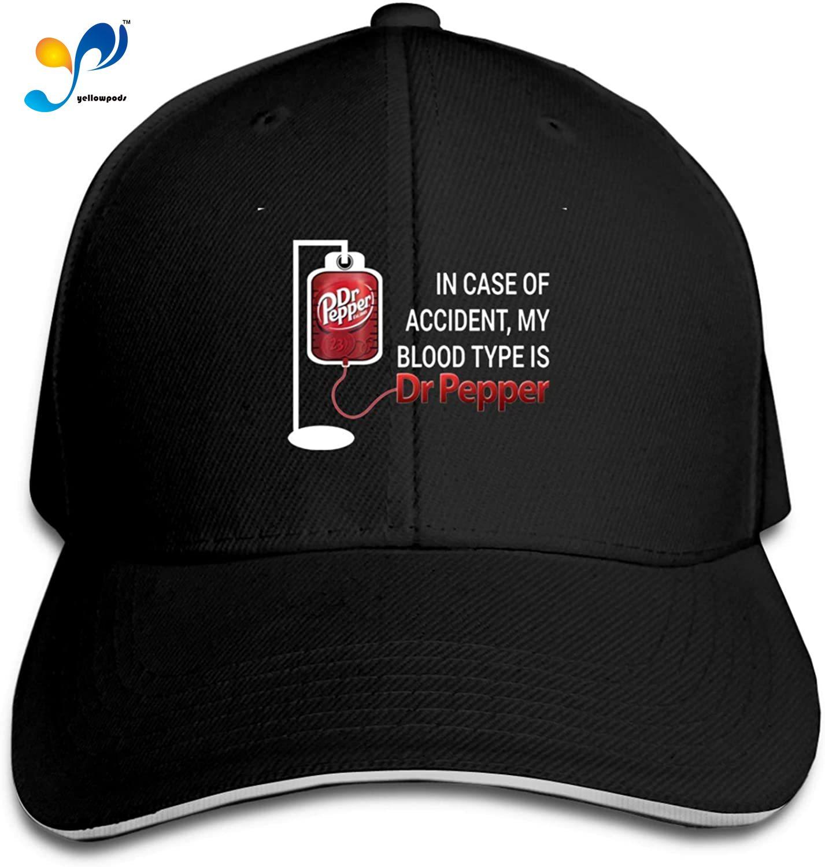 Dr Pepper Sandwich Hat Printed Baseball Cap Headgear Unisex Casquette