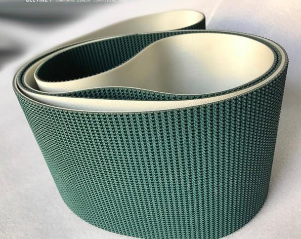 2500x100x5 мм чернильно зеленый ПВХ шаблон лужайки Альпинизм