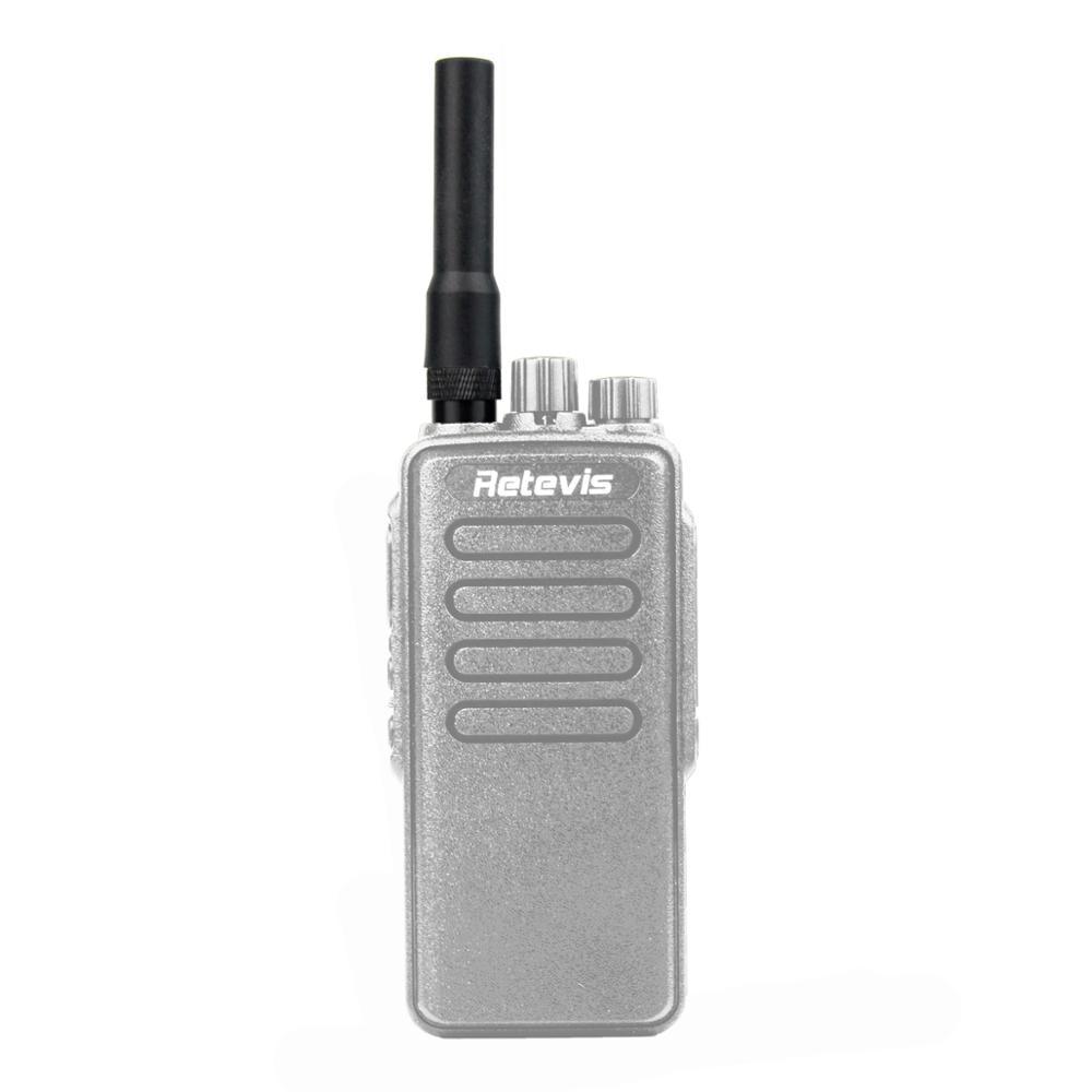 Retevis Black RT20 Dual Band VHF/UHF High Gain SMA-M 144MHz/430MHz Antenna