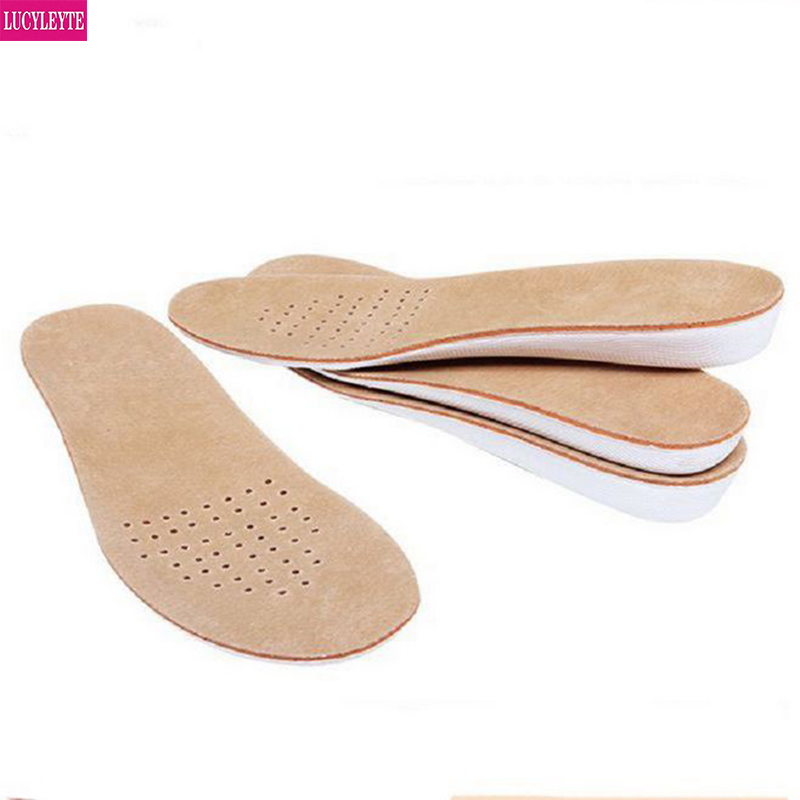 1Pair Reusable Deodorize Breathable Foot Care Insoles Memory Foam Can Be Cut
