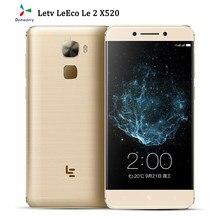 Letv – téléphone portable LeEco Le 2 X520 débloqué, écran de 5.5 pouces, smartphone, Snapdragon 652, Octa Core, mémoire de 3GB et 32GB, caméra de 16mp, Android, lecteur d'empreintes digitales
