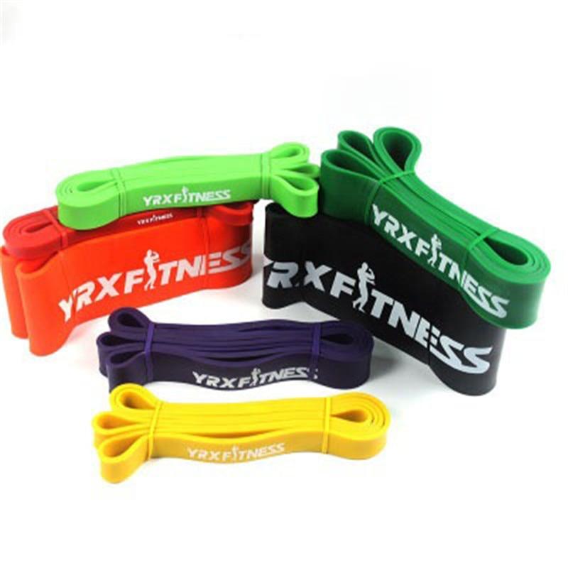 Indoor Outdoor Yoga Resistance Rubber Bands Fitness Equipment Rubber Pilates Sport Training Elastic Bands Fitness Equipment