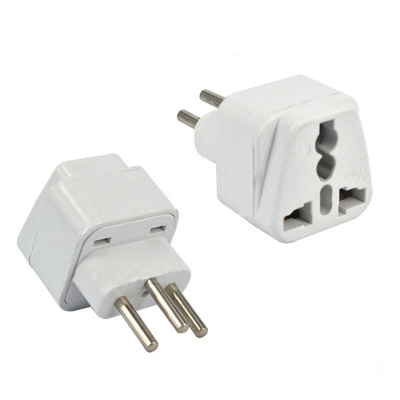 High Quality White Universal EURO UK AU USA US EU to Swiss Switzerland Suisse 3 Pin Plug Adaptor Converter Travel Plug Adapter