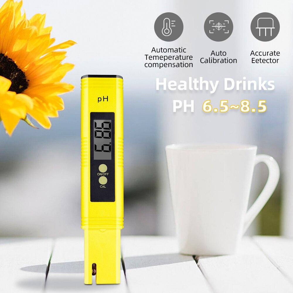 10 unids/lote medidor de PH preciso pluma de Medidor de PH digital calibración automática acuario PH pluma exactitud del probador 0,01 con caja al por menor 18% Shahe Digital nivel transportador Inclinómetro de Nivel Magnético ángulo medidor de ángulo de buscador de nivel de ángulo Digital de