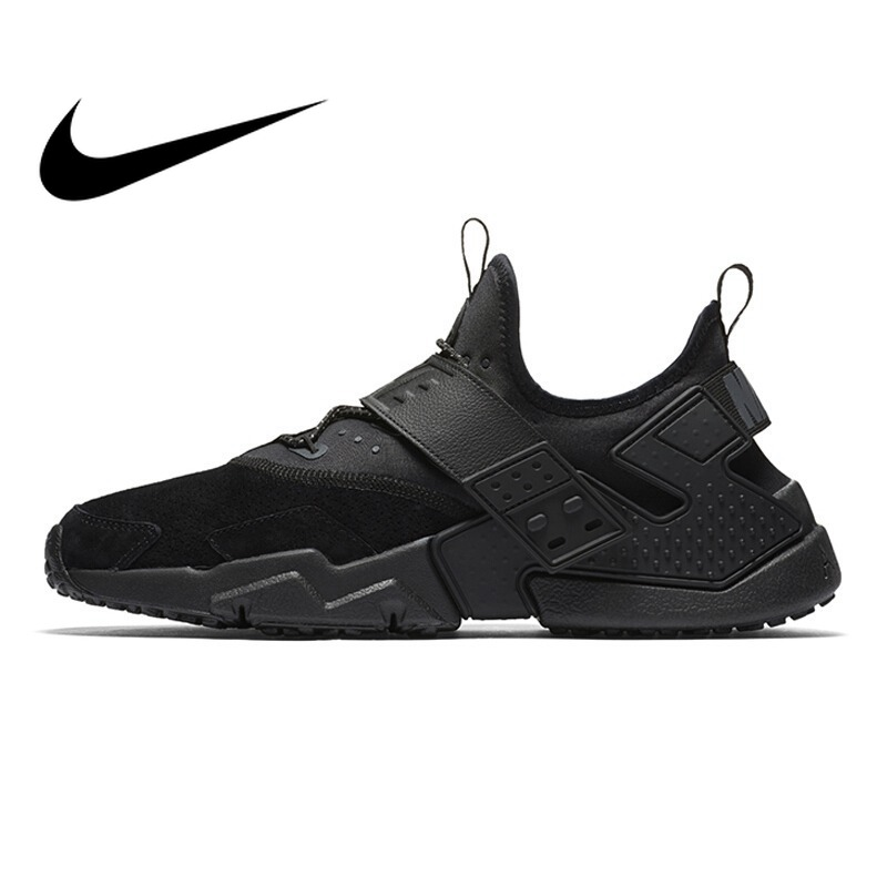 Original NIKE AIR HUARACHE DRIFT PRM Men's Running Shoes Sneakers Outdoor Sports Shoes Comfortable Breathable Footware AH7335