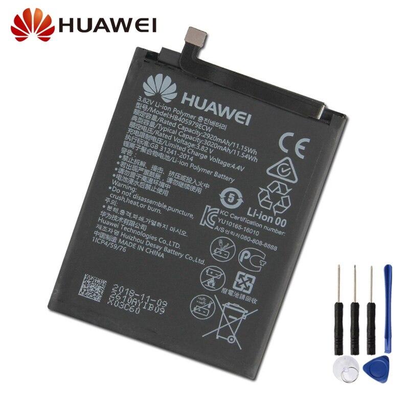 Original Replacement Battery For Huawei Nova Glory Play 6S 6A 7 ENJOY6 ENJOY DIG-AL00 HB405979ECW Genuine 3020mAh