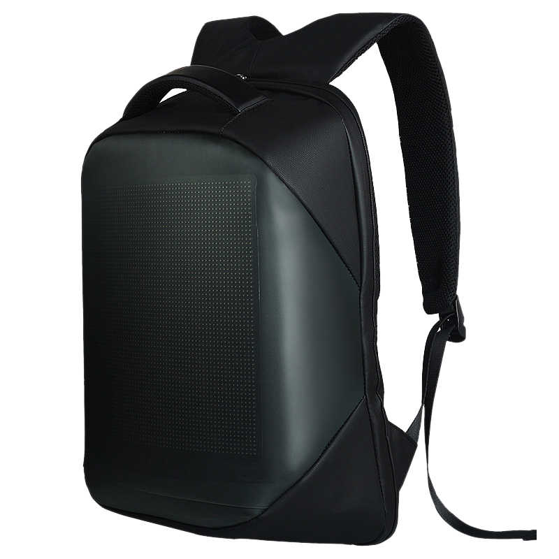 Dc 5V Led Dynamic Display Wifi Backpack Laptop Notebook Control 22L School Bag Waterproof Led Backpack Bag For Advertising