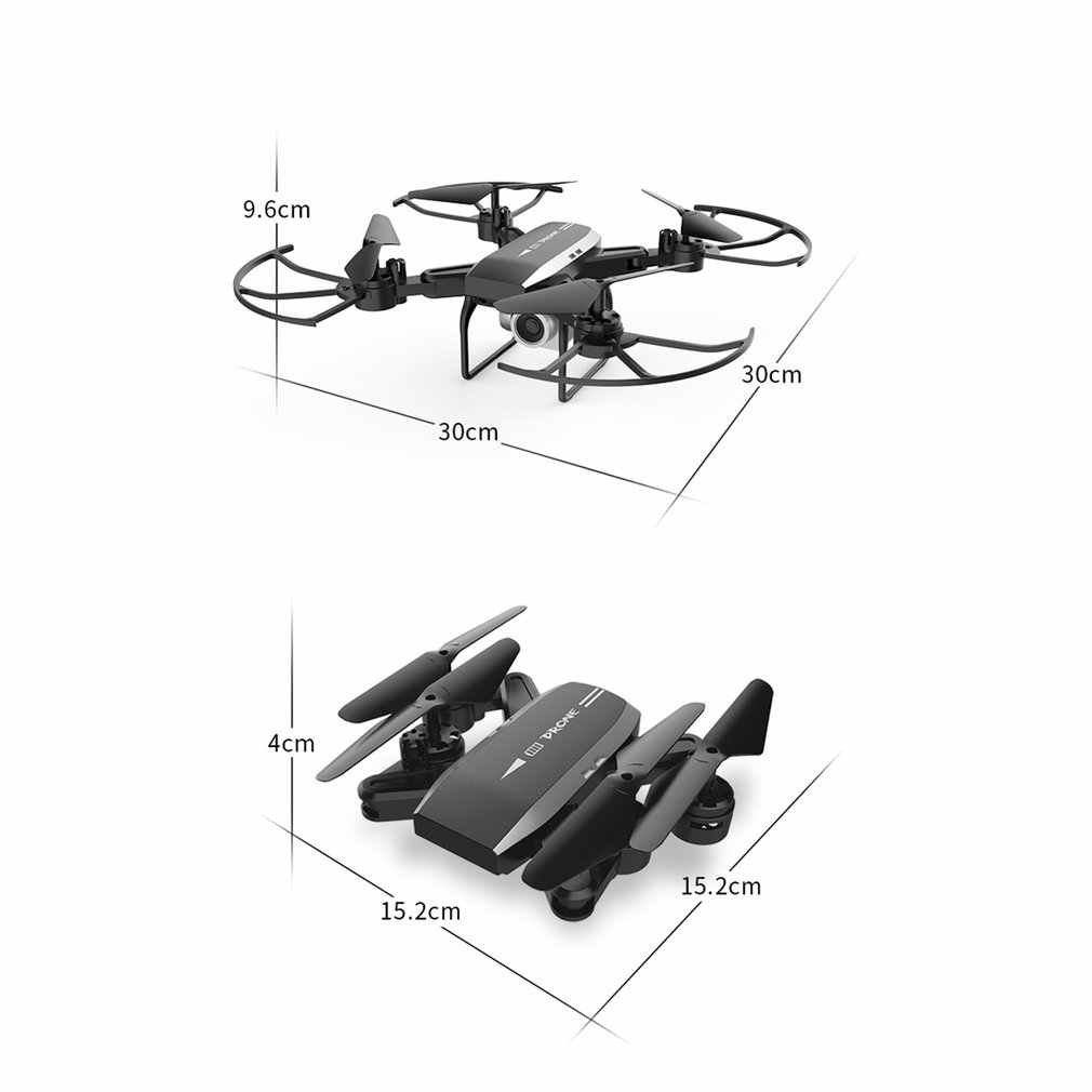KY606D Drone 4k HD التصوير الجوي 1080p أربعة-محور الطائرات 20 دقيقة طيران الهواء ضغط تحوم a مفتاح الاقلاع Rc هليكوبتر