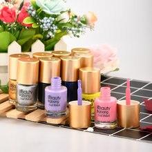 Beautybigbang стемпинг ногтей покрытие с красочным печатным