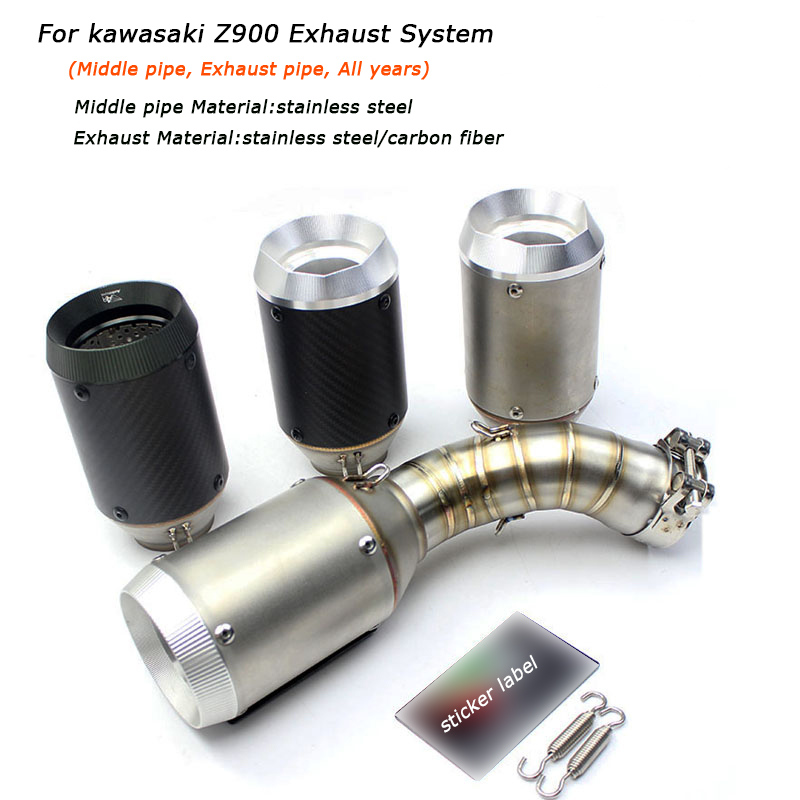 Buy exhaust middle pipe z900 and get free shipping