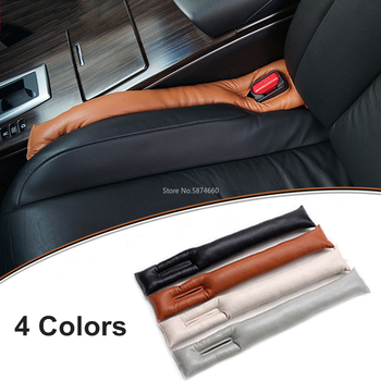 Universal Car PU Leather Interior Seat Cushions Fillers Holster Gap Stopper Spacer Leakproof Pad