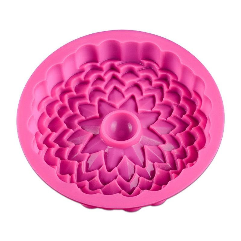 Premium Single Flower Silicone Cake Tin 2