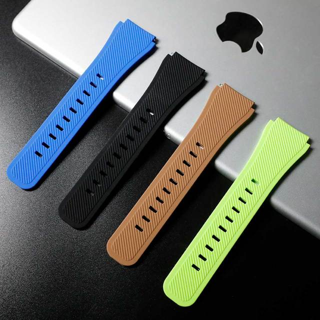 Gear S3 Frontier band for Samsung Galaxy watch 46mm 42mm  strap 22mm 20mm Silicone watchband Bracelet Huawei watch GT strap S3 3