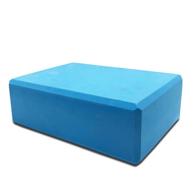 EVA Yoga Block Colorful Foam Block Yoga Brick Exercise Fitness Tool Exercise Workout Stretching Aid Yoga