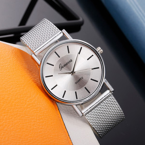 Quartz Watch Woman's High-end Blue Glass Life Waterproof Distinguished Female Clock Quartz Wristwatch Fashion Ladies Wrist #A(China)