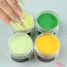 Manicure-Accessories Crystal-Powder Nail-Extension Professional 15g for 3D Bright-Yellow