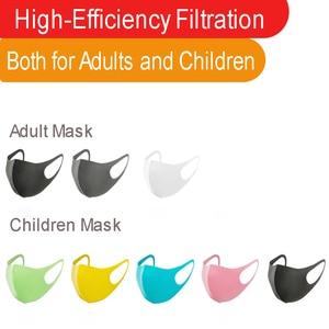 3PCS Reusable Face Masks Anti Dust Masks Children Breathable Earloops Face Mouth Cover Face Regular Mask
