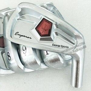 Image 2 - Nowa głowica golfowa George duchy żelazka do golfa zestaw 4 9P ze stali węglowej klub żelazka głowy bez wału golfowego darmowa wysyłka