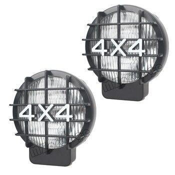 цена на MZORANGE For Car Off Road SUV 2Pcs 55W Offroad Fog Light Lamp Halogen H3 Bulb 4x4 Spotlights Lights Work Driving HeadLights