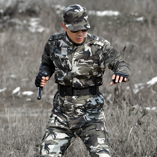 Uniforme Militar Multicam Camouflage Tactical Suit Fishing Hunting Clothes Men Women Ropa Caza Combat Airsoft Camo Ghillie Suit 5