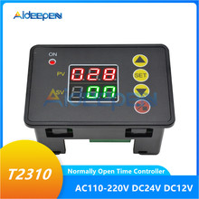 цена на T2310 Normally Open Microcomputer Time Controller 12V 24V 110V 220V LED Digital Display Time Delay Relay Switch