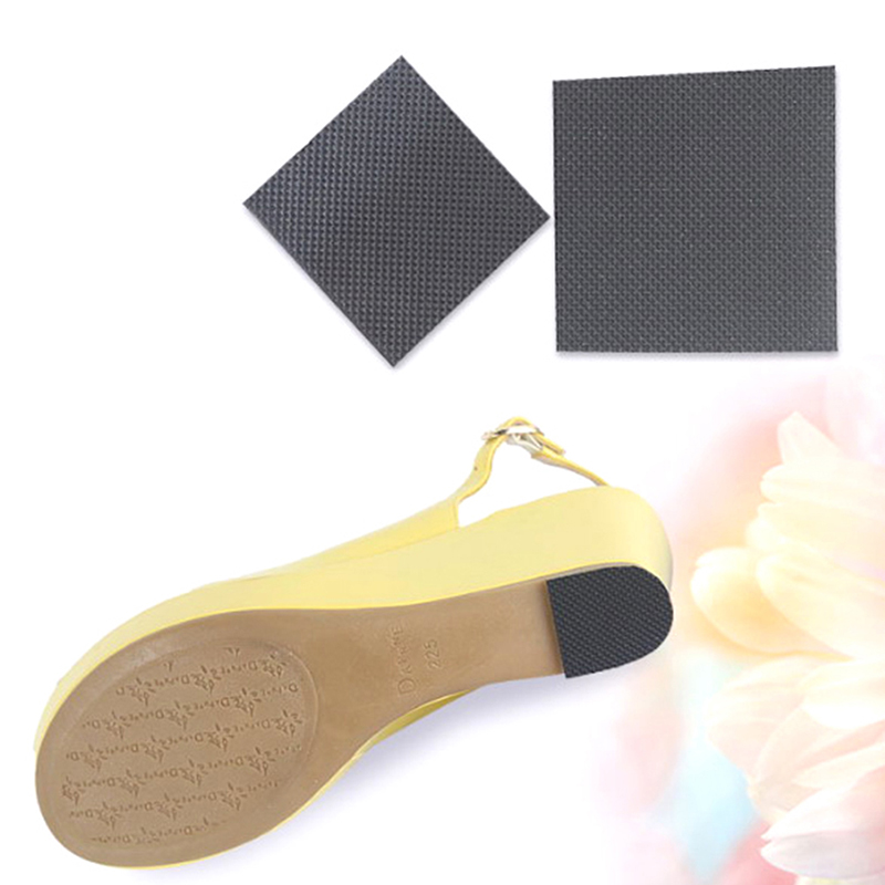 1Pair Self-Adhesive Anti-Slip Shoes Mat Durable High Heel Sole Protector Rubber Pads Cushion Non Slip Insole High Heel Sticker