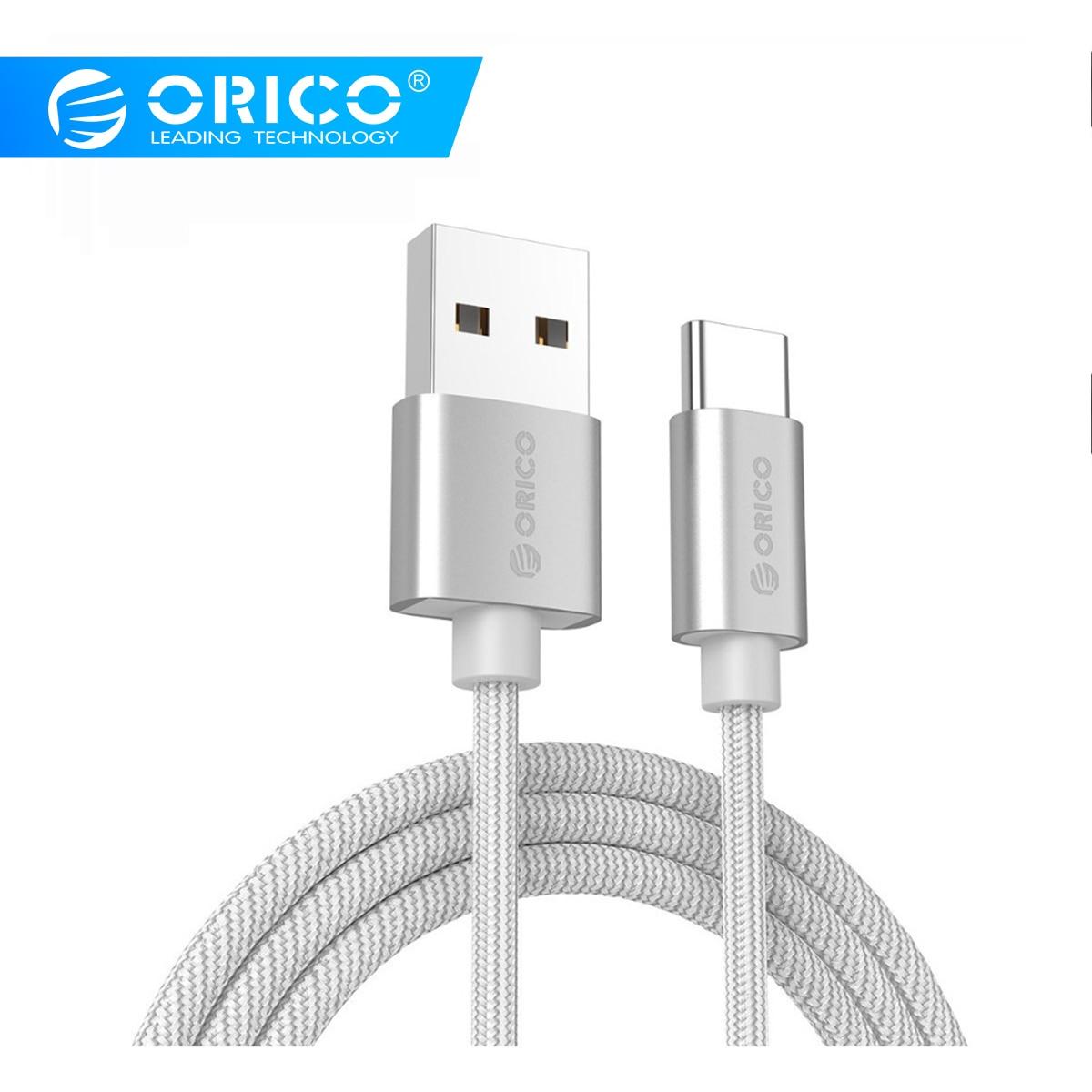 ORICO Nylon USB Type C Cable usb type c cables for xiaomi mi5 Oneplus LG Nexus 5x huawei samsung letv usb type c wire|cable for|usb type-c cable|type-c cable - AliExpress