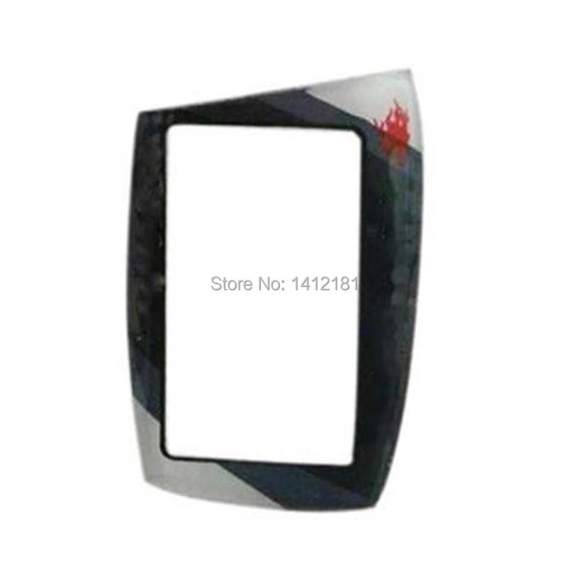M5 Keychain Glass Cover For Scher-Khan Magicar 5 6 Scher Khan Lcd Remote Control Case Russian Version Only Glass