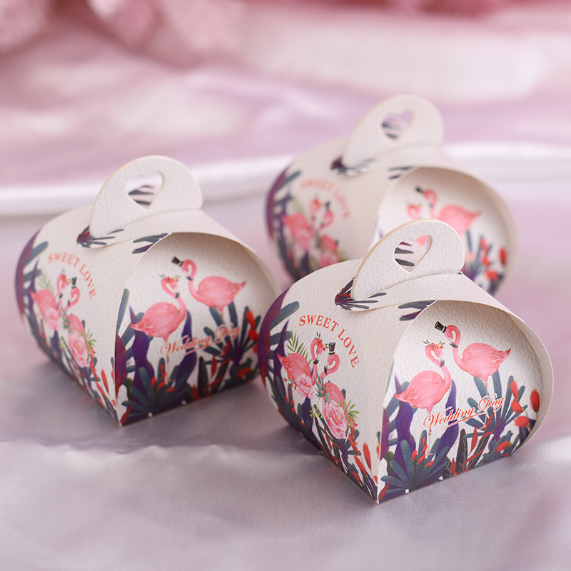 10pcs/set Hollow Heart Wedding Candy Box Unicorn Bunny Cake Cookie Box Baby Shower Birthday Party Gift Box Supplies 66