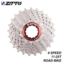 цена на ZTTO 9 SpeedCassette 11-25T 9s 25T Freewheel Road Bike Bicycle Parts 18S 27S Speed Sprocket for Sora 3300 3500 R3000