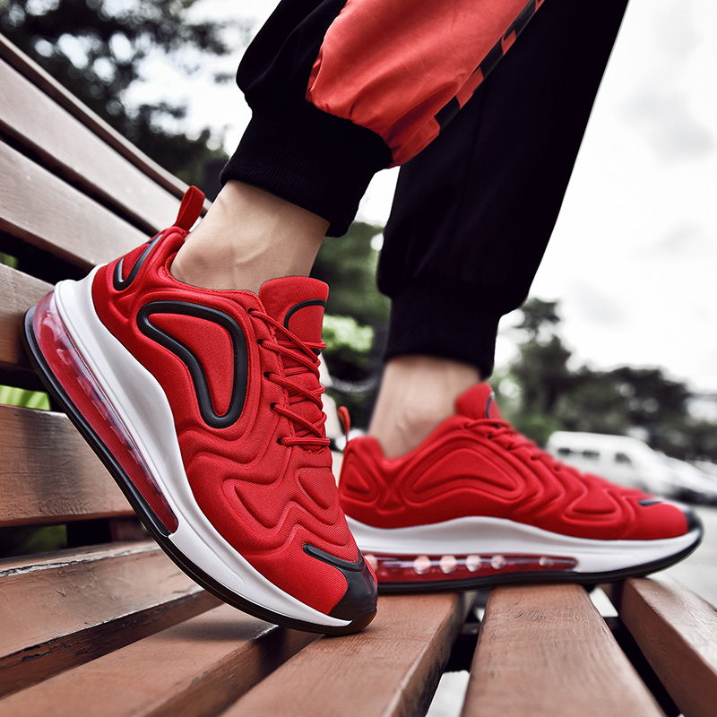 Unisex Running Shoes Air Couple Shoes Breathable Women Brand Fashion Sneakers Cushion Shoes Outdoor Sports Shoes Fitness Shoes
