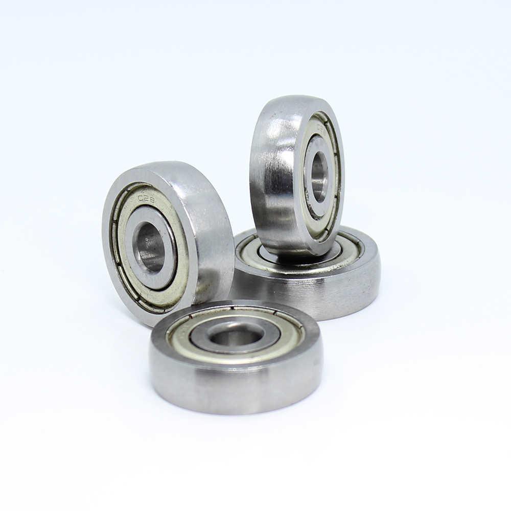 Uc638zz rolamento 8*28*8mm (4 pces) ABEC-1 grau c28 cs638z miniatura uc 638 zz rolamentos de esferas