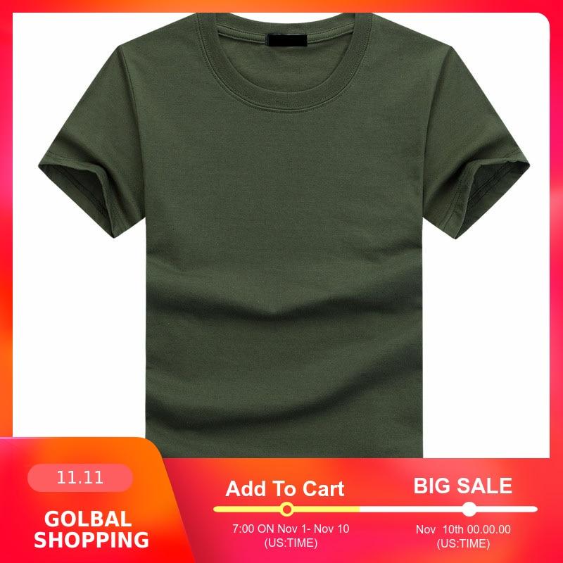 2019 haute qualité mode hommes t-shirts décontracté à manches courtes T-shirt hommes solide décontracté coton T-shirt vêtements d'été 5XL TX112