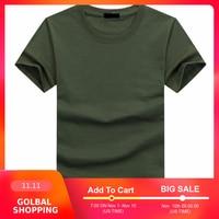 2019 hohe Qualität Mode Herren T Shirts Casual Kurzarm T-shirt Mens Feste Beiläufige Baumwolle T Shirt Sommer Kleidung 5XL TX112