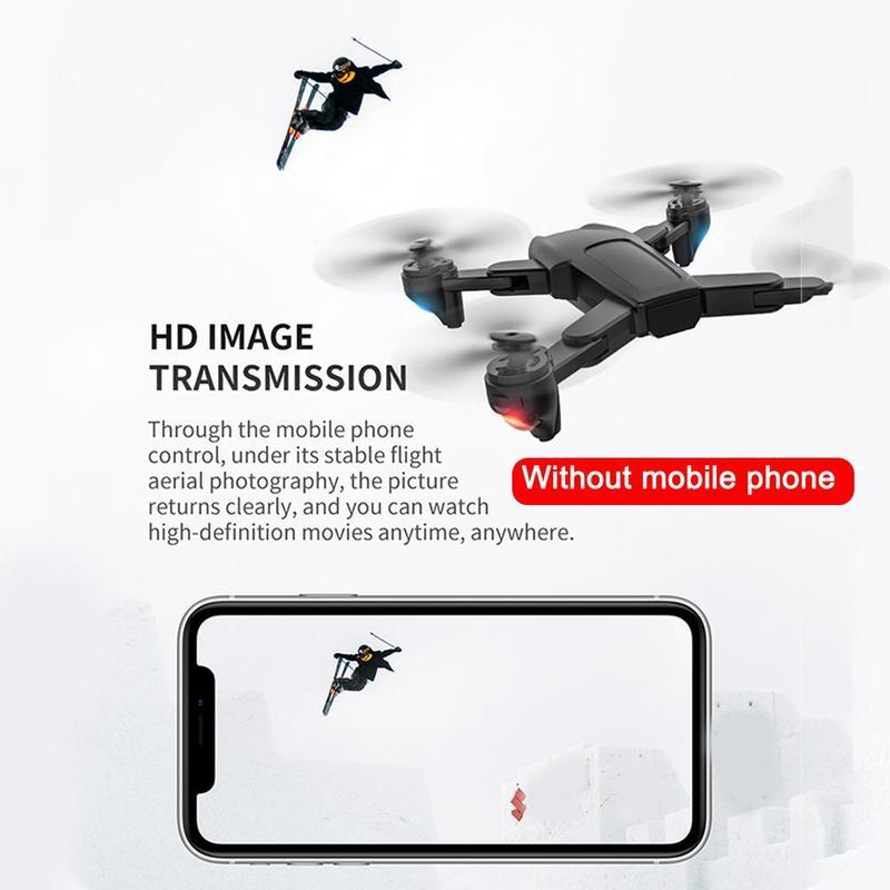lowest price Foldable Quadcopter Professional Drone Remote Control High RC Wifi Quadcopter Distance Timely Transmission FPV RC Quality D F6W9