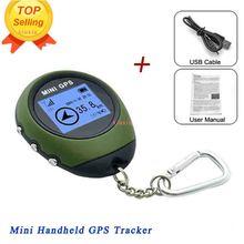 Gps трекер брелок gps навигатор ручной для спорта на открытом воздухе скалолазание длительной поездки туристический путешествия USB Перезаряжаемый Мини