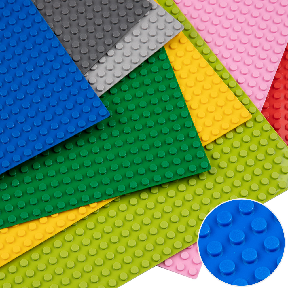 32*32 Dots Classic Base Plates Compatible LegoINGlys Baseplates City Dimensions Building Model Toys For Children 10700
