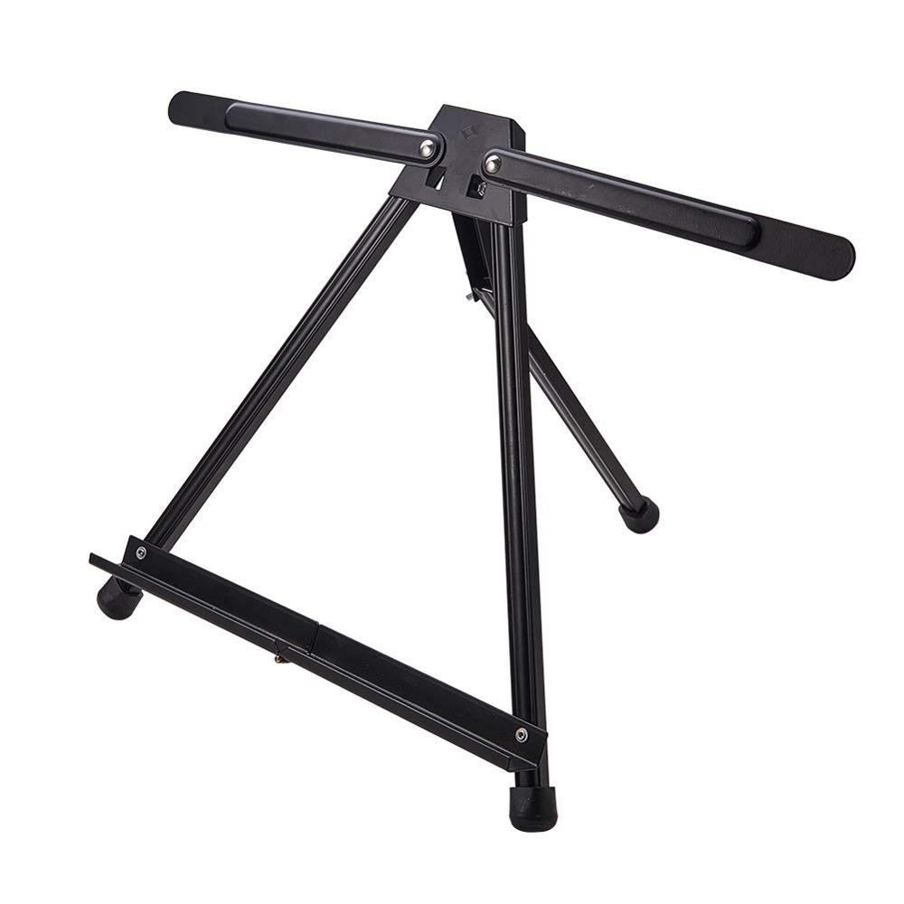 Portable Adjustable Aluminum Alloy Easel Metal Sketch Easel Stand Foldable Tripod Easel  Sketch Drawing For Artist Art Supplies